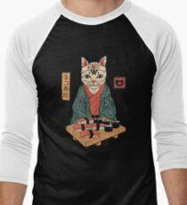 Neko Sushi Bar Men's Baseball ¾ T-Shirt