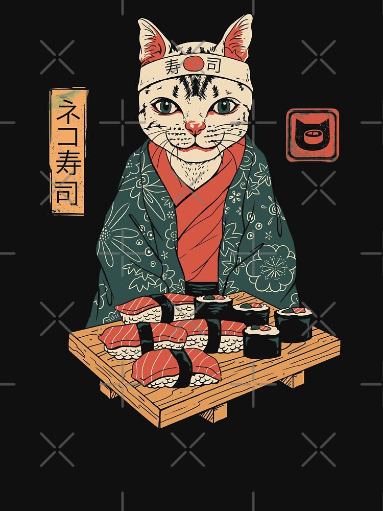 Neko Sushi Bar by vincenttrinidad