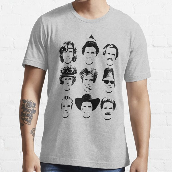 The Many Faces of Will Essential T-Shirt