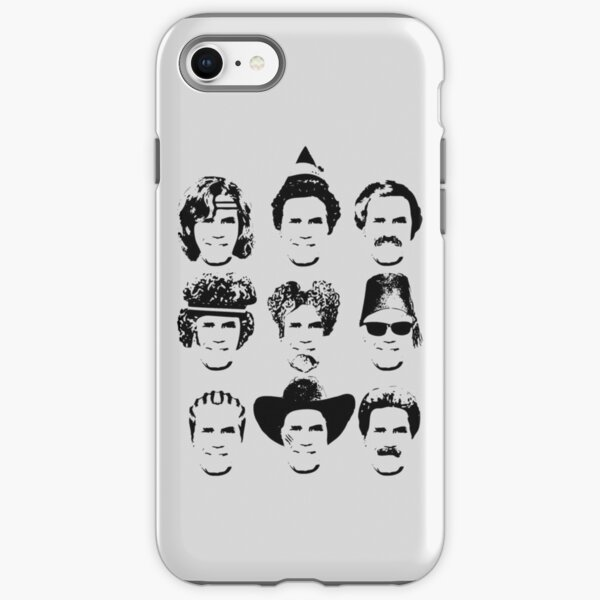 The Many Faces of Will iPhone Tough Case