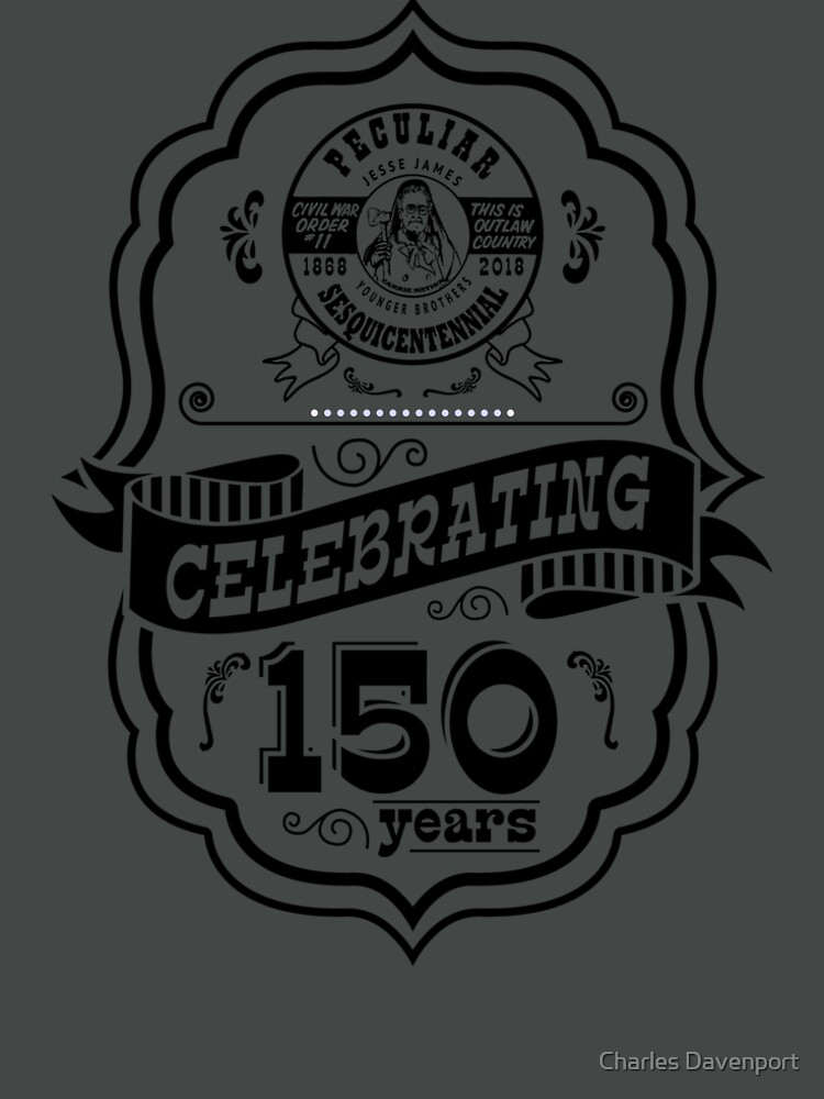 150th Anniversary of Peculiar by cdavenport4