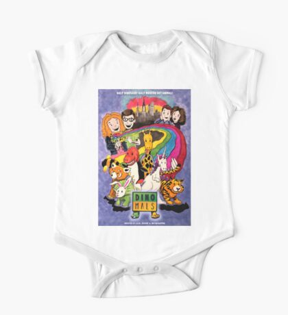 Dinomals Animated Series Poster Kids Clothes