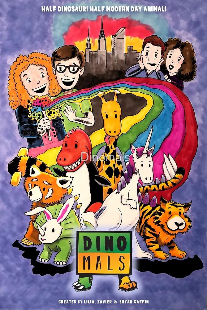 Dinomals Animated Series Poster by Dinomals