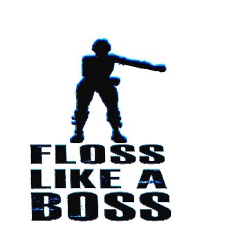 "FORTNITE T-SHIRT ""Foss like a boss"" by teeking86"