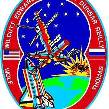 STS-89 Mission Crest by Quatrosales