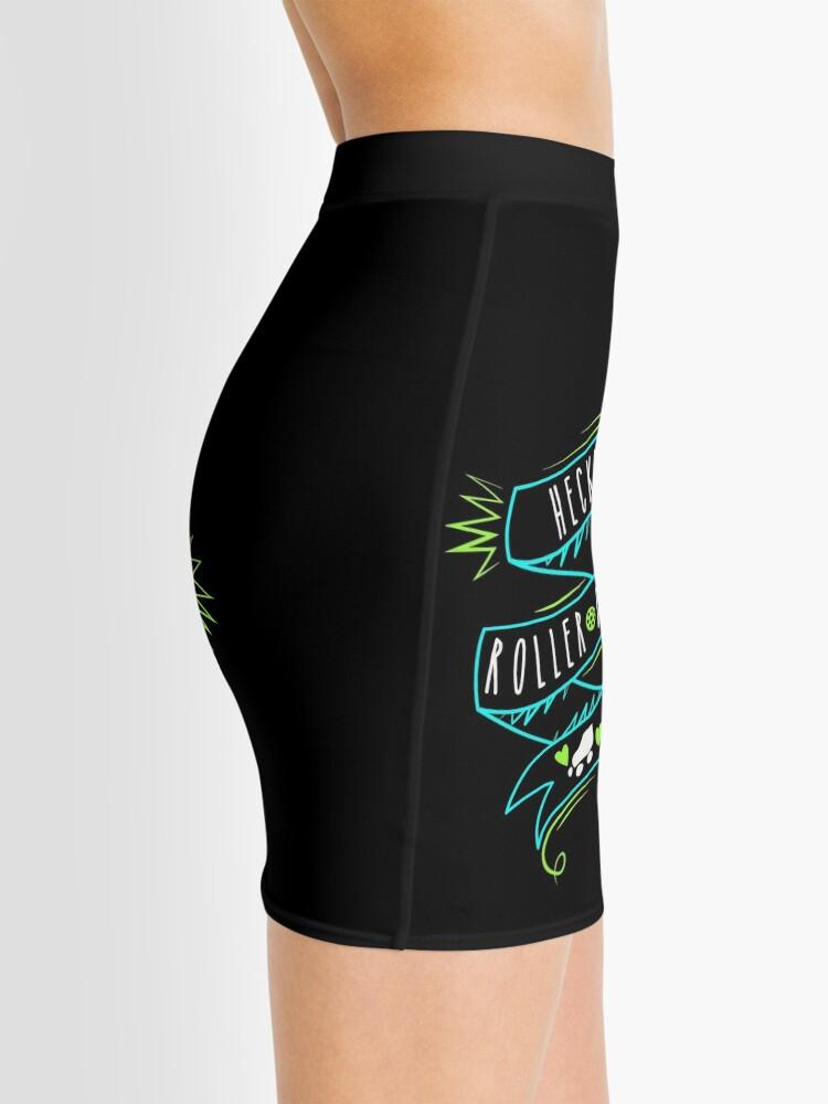 Alternate view of Heckin Roller Derby Mini Skirt