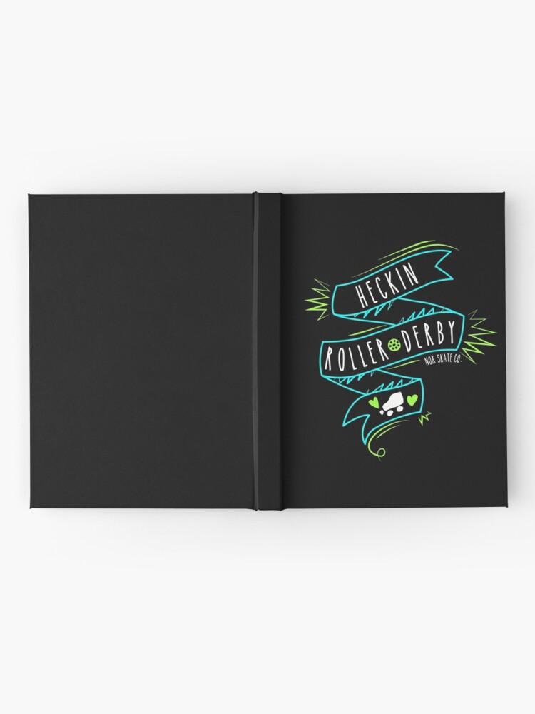 Alternate view of Heckin Roller Derby Hardcover Journal