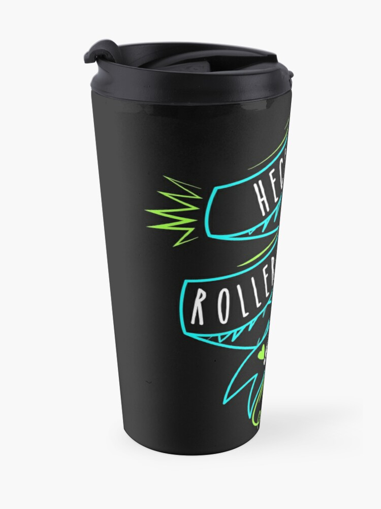 Alternate view of Heckin Roller Derby Travel Mug