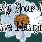 Make you Life Have Meaning by Samitha Hess Edwards