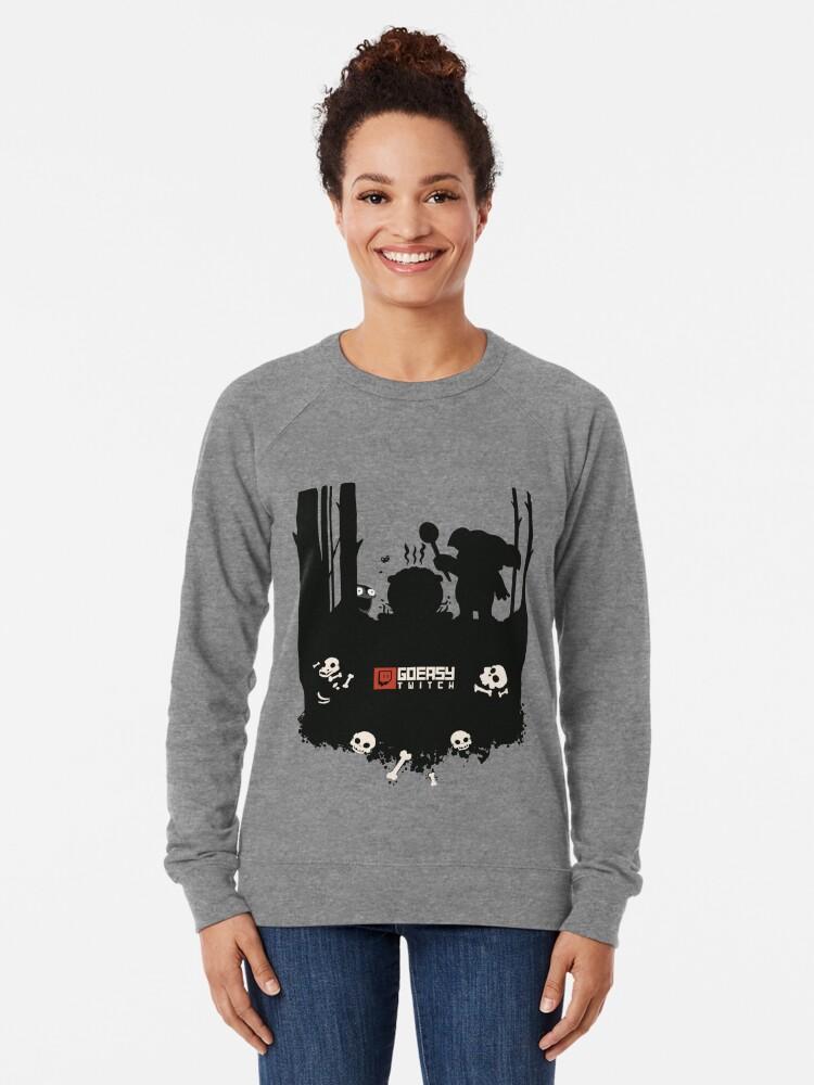 Alternate view of GoEaSyTwitch Rusterella Edition Lightweight Sweatshirt