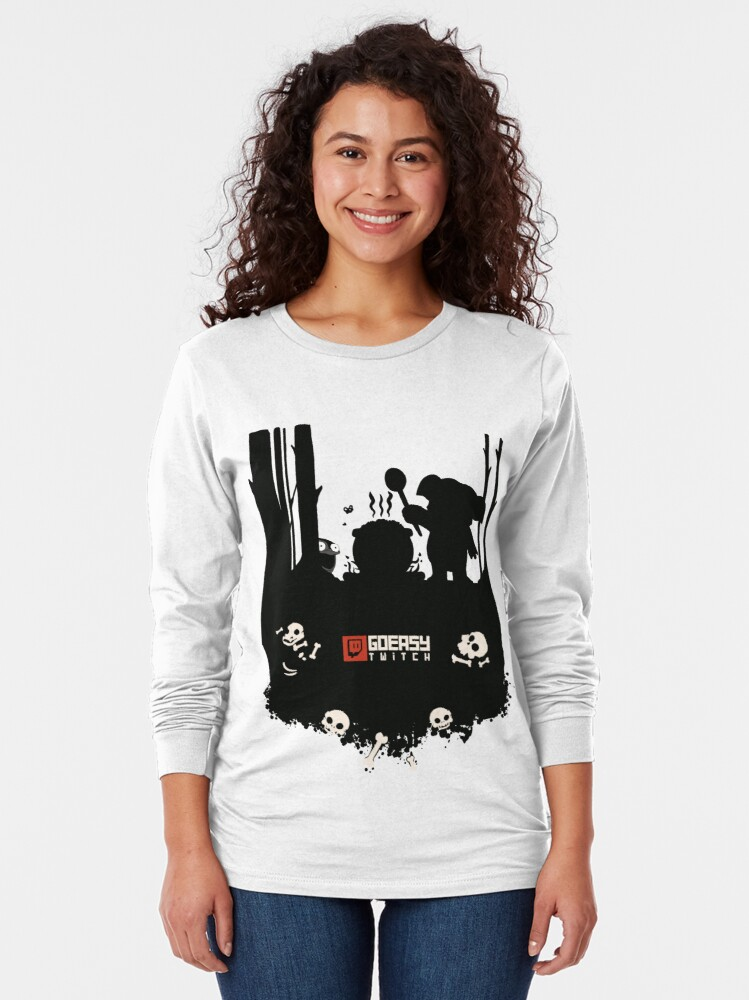 Alternate view of GoEaSyTwitch Rusterella Edition Long Sleeve T-Shirt