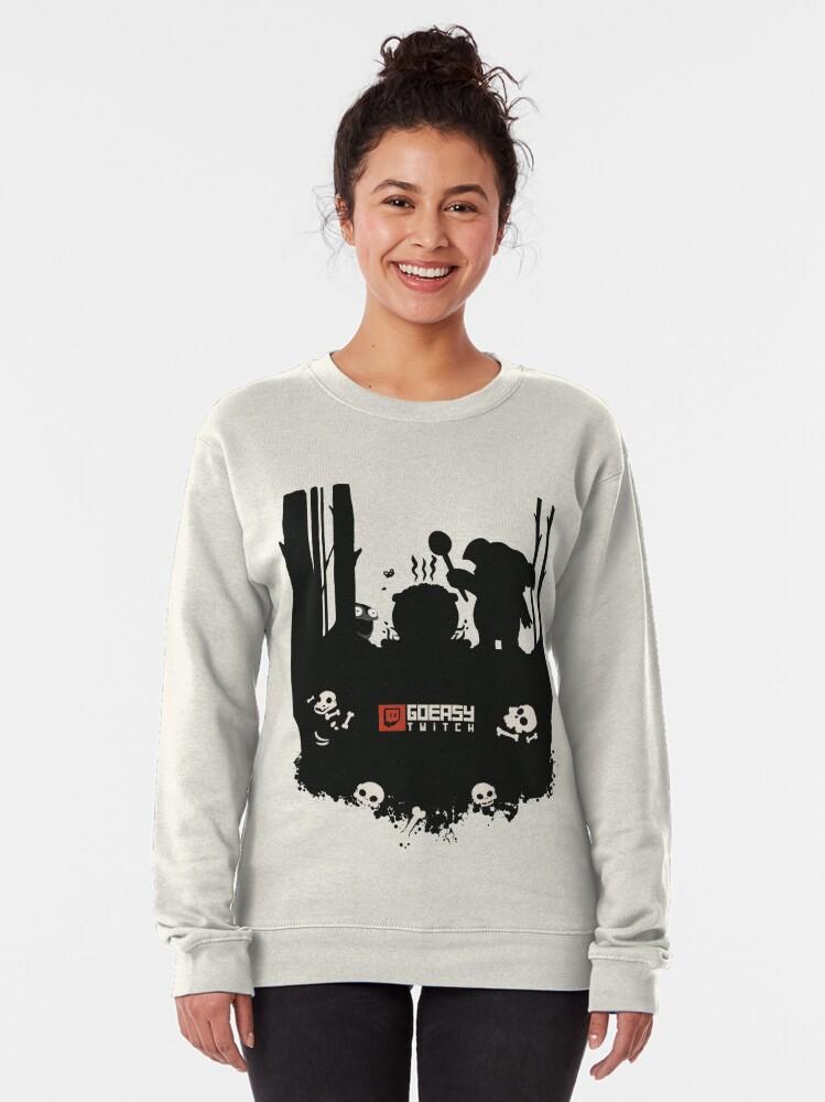 Alternate view of GoEaSyTwitch Rusterella Edition Pullover Sweatshirt