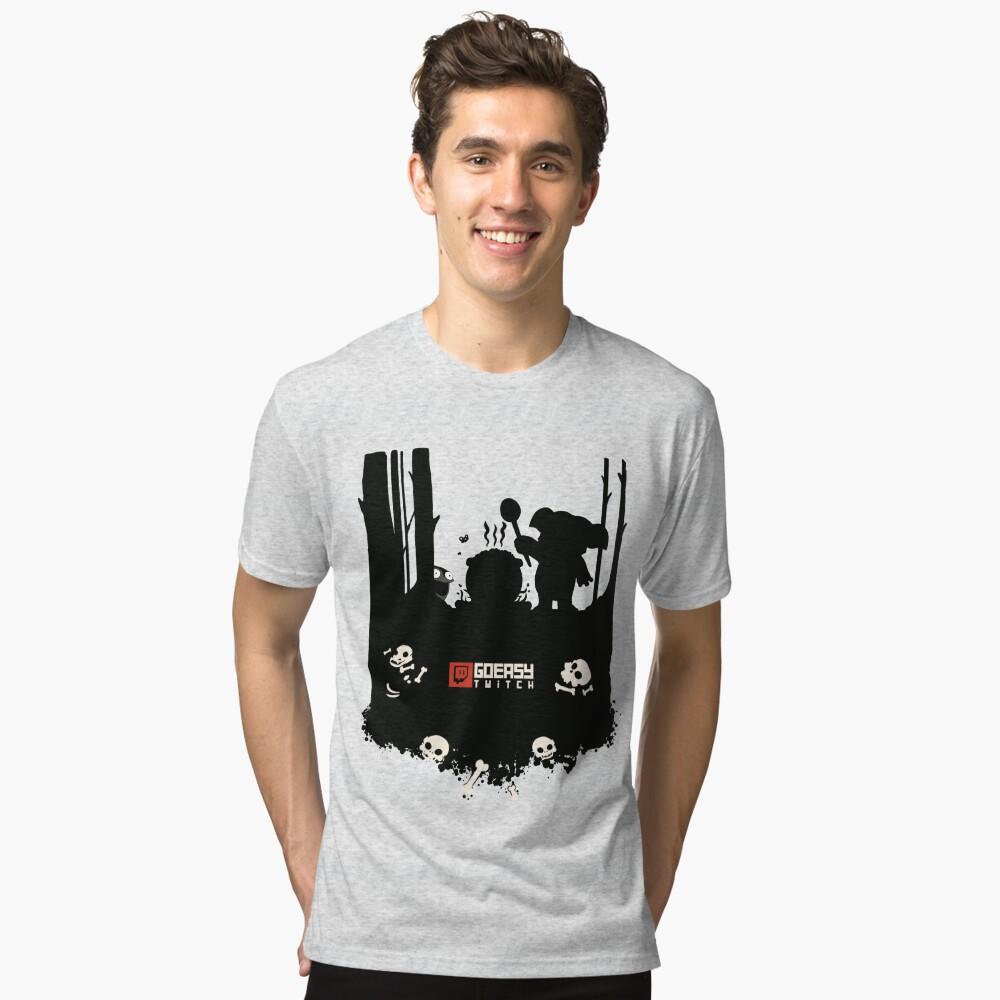 GoEaSyTwitch Rusterella Edition Tri-blend T-Shirt