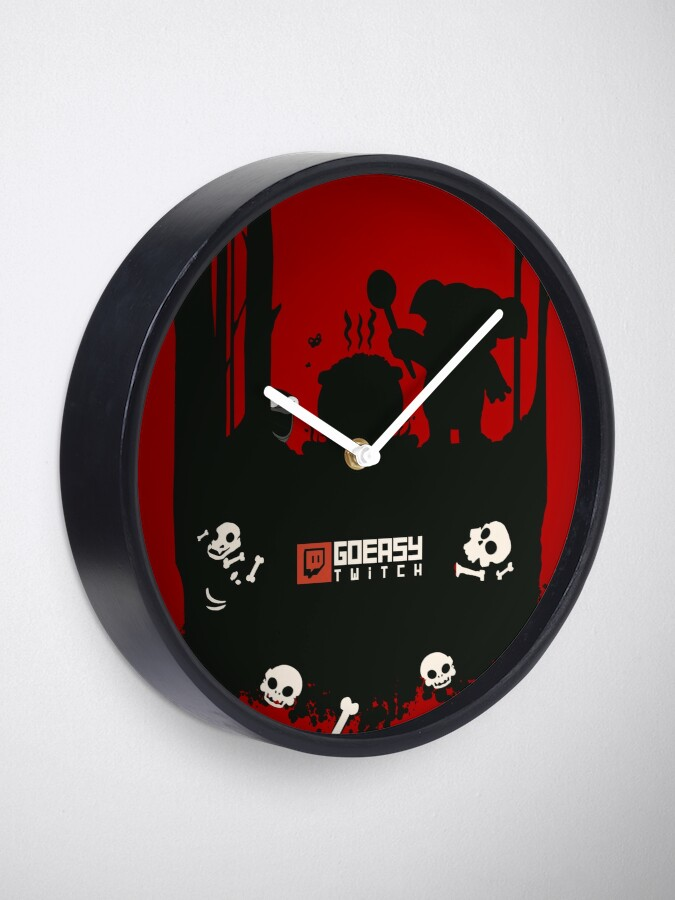 Alternate view of GoEaSyTwitch Rusterella Edition Clock