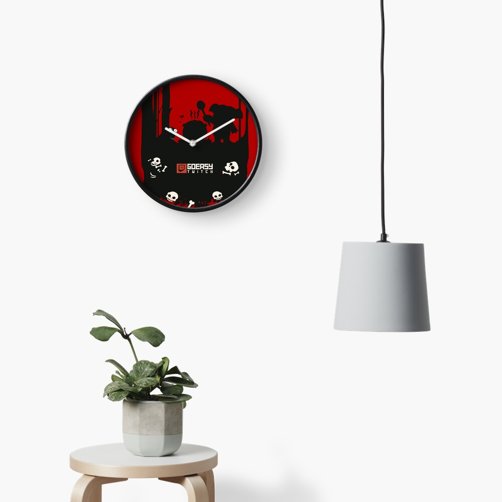 GoEaSyTwitch Rusterella Edition Clock