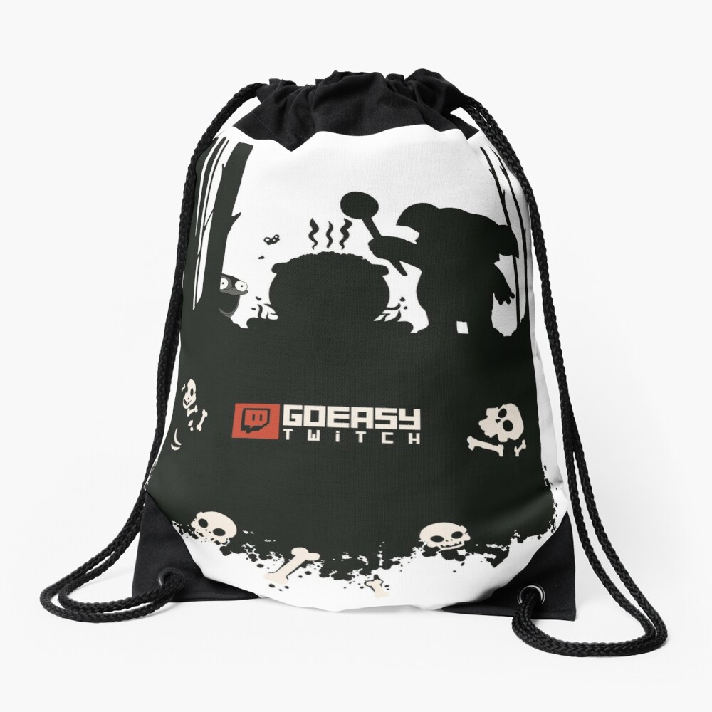 GoEaSyTwitch Rusterella Edition Drawstring Bag