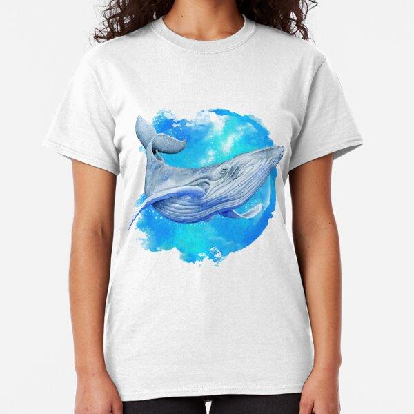 Ballena Azul Camiseta clásica
