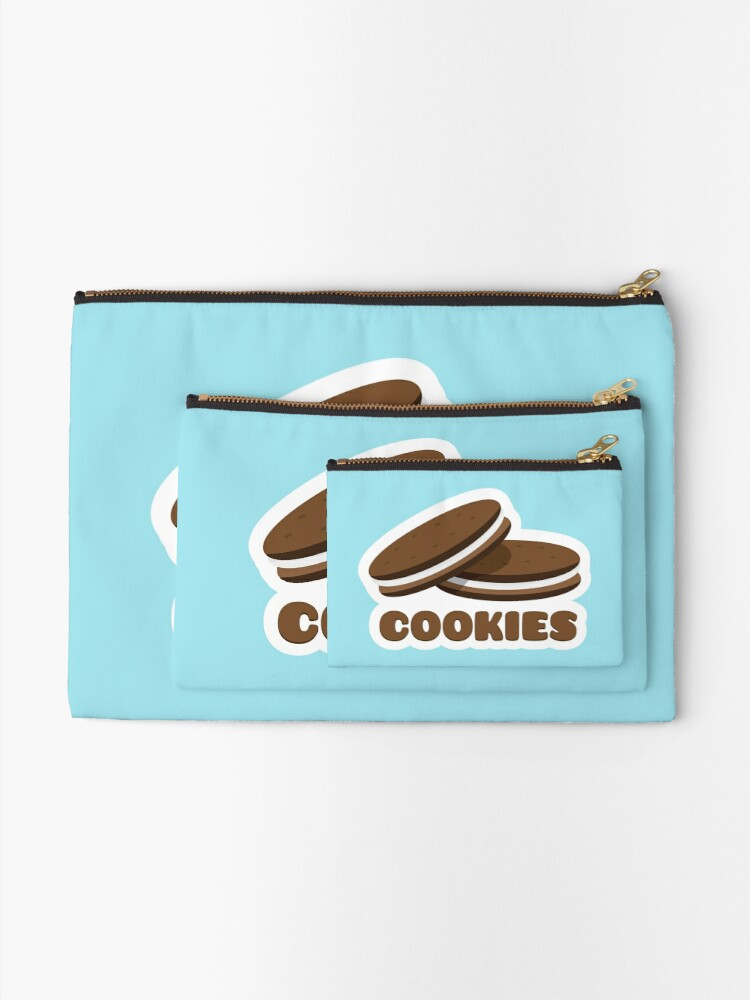Alternate view of Cookies Zipper Pouch