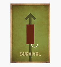 Survival Hunter - WoW Minimalism Photographic Print