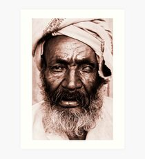 Portrait of an Ethiopian Art Print