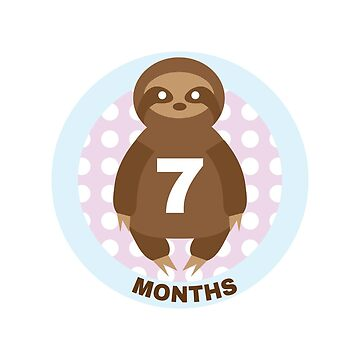 Baby Growth - Sloth (7 Months) by babybigfoot