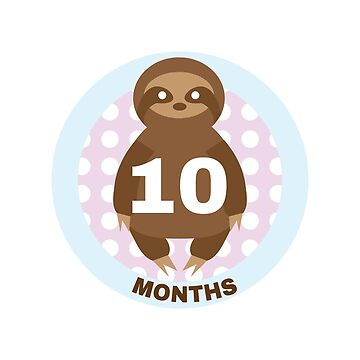 Baby Growth - Sloth (10 Months) by babybigfoot