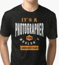 Photographer Thing Tri-blend T-Shirt