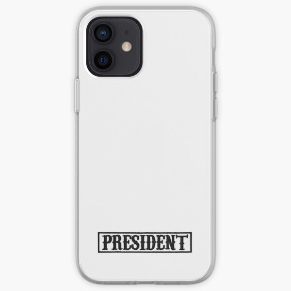 patch président | fils de l'anarchie Coque souple iPhone