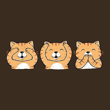 Drei weise Katzen von triagus