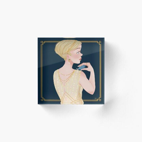 Daisy Buchanan Acrylic Block