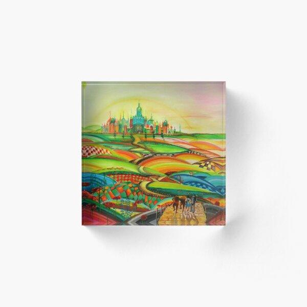 The Wizard of Oz Acrylic Block