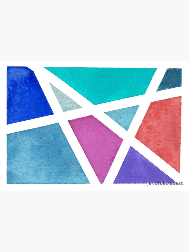 Digitized Original Watercolor Painting  by jenofalltradesc