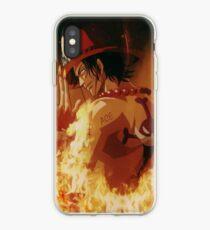One piece - Ace Fire iPhone Case