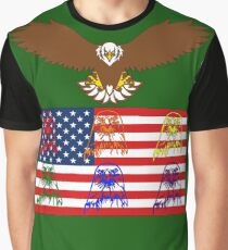USA Family Graphic T-Shirt