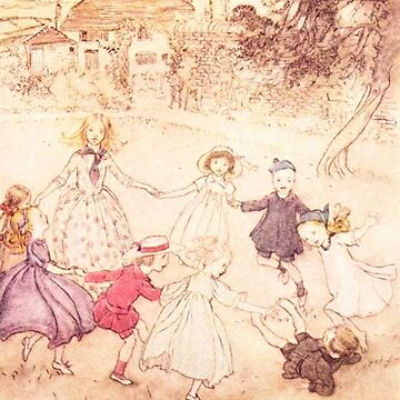Ring around the rosie  - Arthur Rackham from Peter Pan by Geekimpact