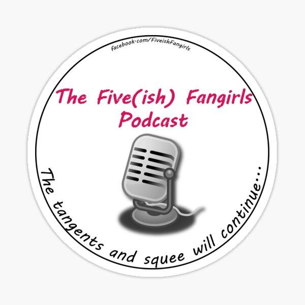 Five(ish) Fangirls Minimal Logo Sticker