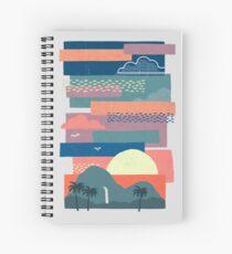 Tropical Skies Spiral Notebook