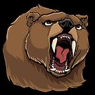Angry Bear by Malchev