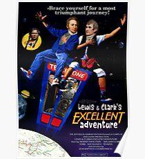 Lewis und Clarks ausgezeichnetes Abenteuer Poster