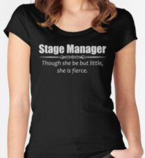Stage Manager Gifts - Women Assistant Stage Managers Women's Fitted Scoop T-Shirt