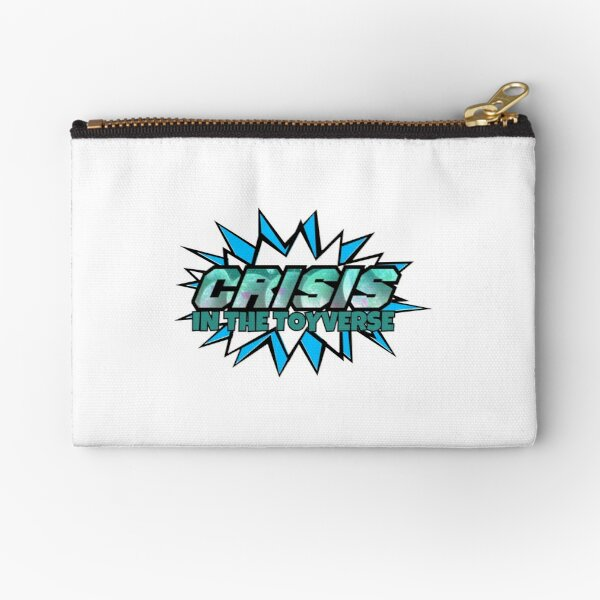Crisis in the Toyverse Zipper Pouch