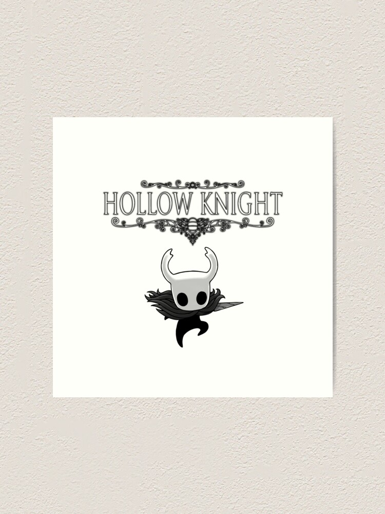 Hollow Knight Art Print By Nloony Redbubble