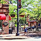 Corning NY - Charming Cafe by Susan Savad