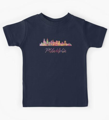 Philadelphia Skyline Kids Clothes