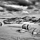 Granite Beach at Dusk by Mark Boyle