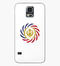Sikh American Patriot Flag Series Case/Skin for Samsung Galaxy