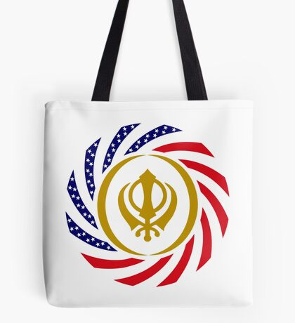 Sikh American Patriot Flag Series Tote Bag