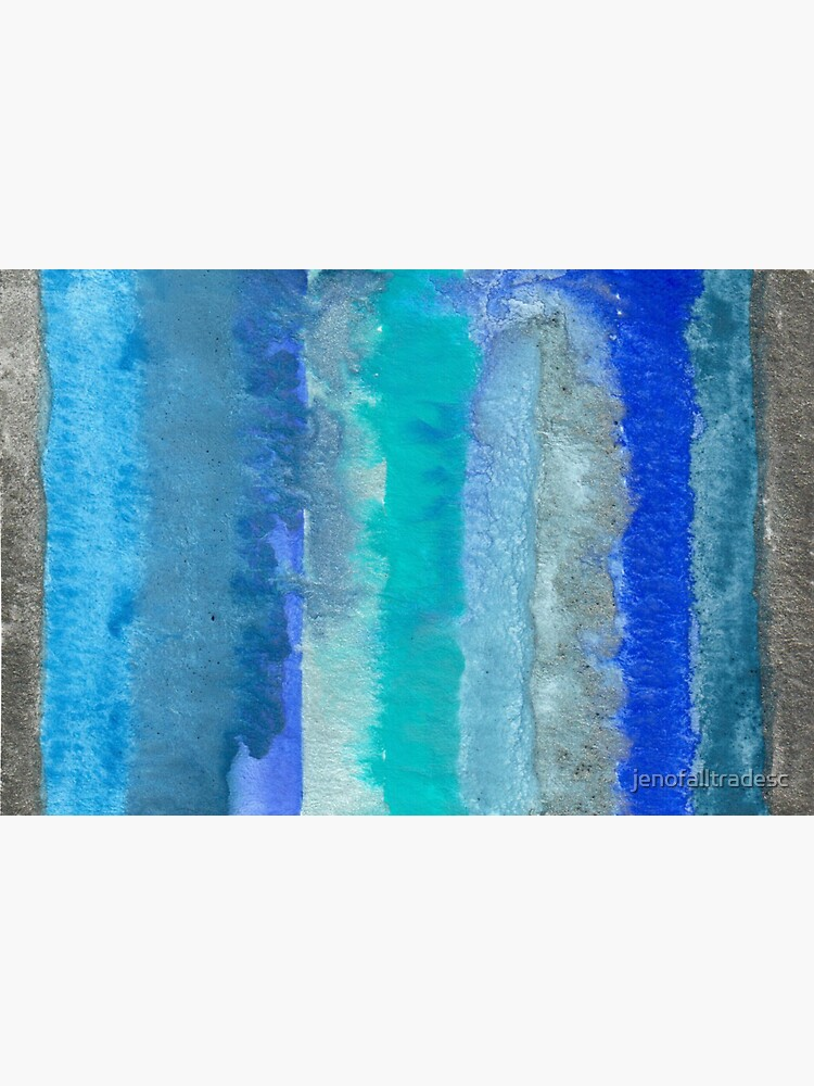 Large Watercolor Stripes digitized original watercolor painting by jenofalltradesc