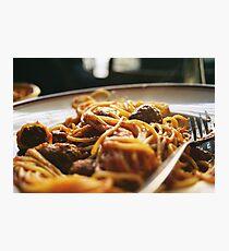 Spaghetti Flow Photographic Print
