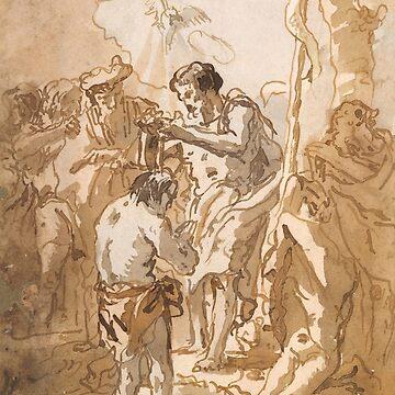 Baptism of Jesus Christ  by dianegaddis